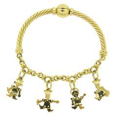 Pomellato Gold Orsetto Charm Bracelet