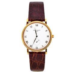 Patek Philippe Rose Gold Calatrava Wristwatch