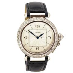 Cartier White Gold Pasha Wristwatch