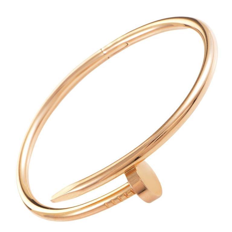 Cartier Juste Un Clou Gold Bracelet At 1stdibs