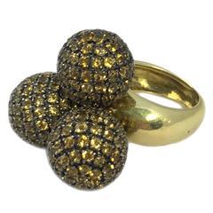 Fun Citrine Gold Ring