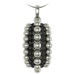 Melody Deldjou Fard And Sparkles Diamond Gold Pendant