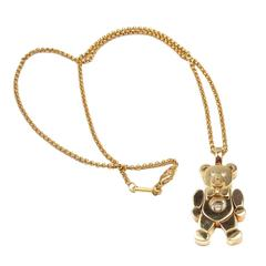 Chopard Happy Diamond Teddy Bear Gold Pendant Necklace
