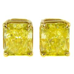 Tiffany & Co. Fancy Intense Yellow Gold Studs