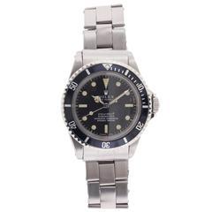 Rolex Stainless steel Submariner Wristwatch Ref 5512