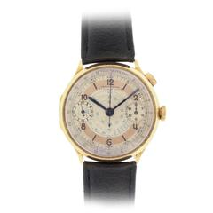 Swiss Single Button Chronograph Wristwatch