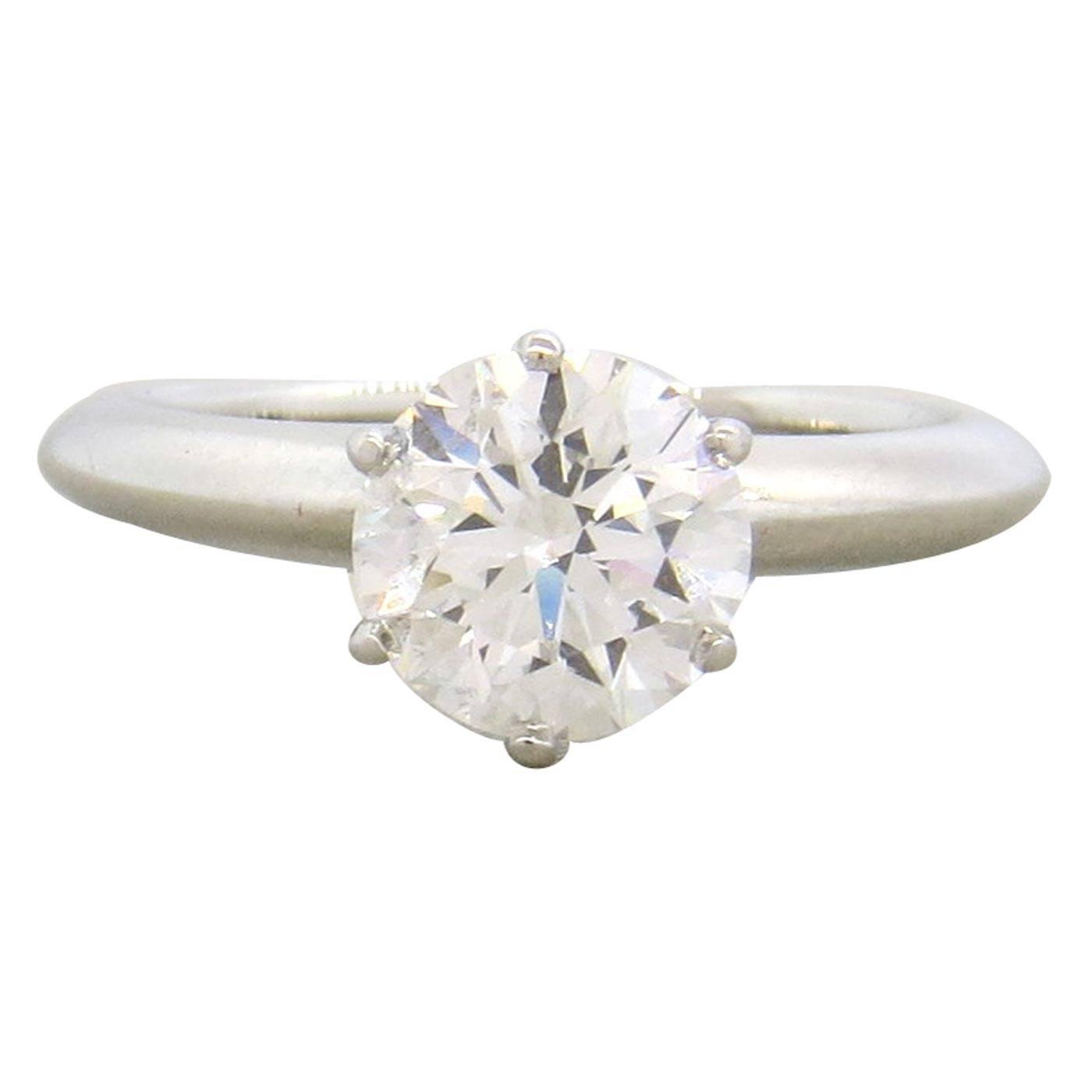 and co 1 53 carat platinum engagement