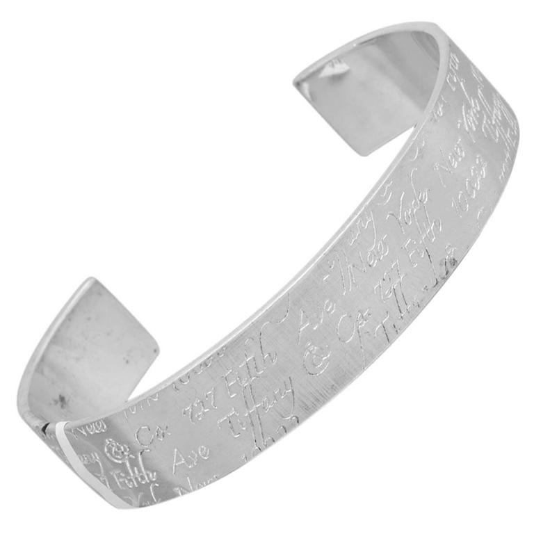 6715606bd1cd9 Tiffany & Co. Notes Collection Sterling Silver Cuff Bracelet