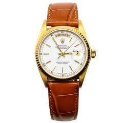 Rolex Yellow Gold Presidential Automatic Wristwatch with Presidential Bracelet