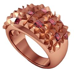 Barbara Nanning & Sparkles Ruby and Gold Ring