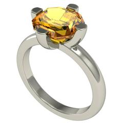 Christoph Blatter and Sparkles Citrine Gold Ring