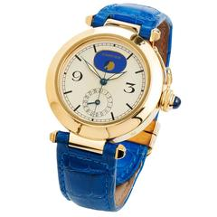 Cartier Lady's Yellow Gold Pasha de Cartier Moonphase Wristwatch