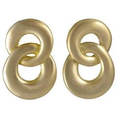 Angela Cummings Gold Earrings