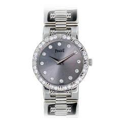 Piaget Lady's White Gold Diamond Dancer Quartz Wristwatch Ref 80564 K 81