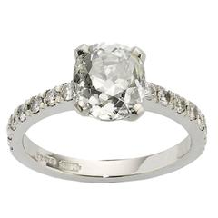 2.34 Carat GIA Certified Diamond Platinum Ring