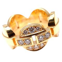 Cartier Himalia Diamond Gold Band Ring