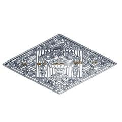 Early 20th Century Charlton & Co. Diamond Platinum Brooch