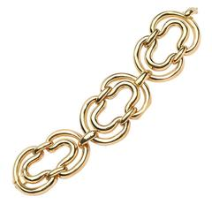 Open Link Gold Bracelet