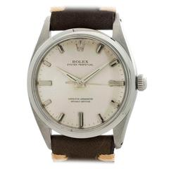 Rolex Stainless Steel Oyster Perpetual Wristwatch Ref 1018