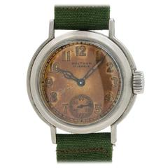 Waltham Premier U.S. Military WWII Era Wristwatch
