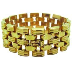 1940 Gold Link Bracelet