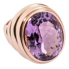 Colleen B. Rosenblat Amethyst Gold Ring