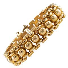 Retro Austrian Gold Bracelet