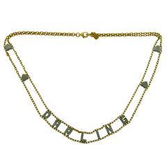 Repossi Diamond Gold DARLING Necklace