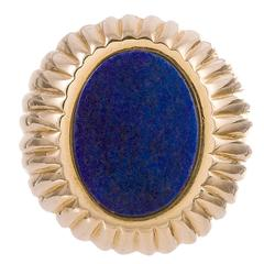 Lapis Lazuli Gents Ring