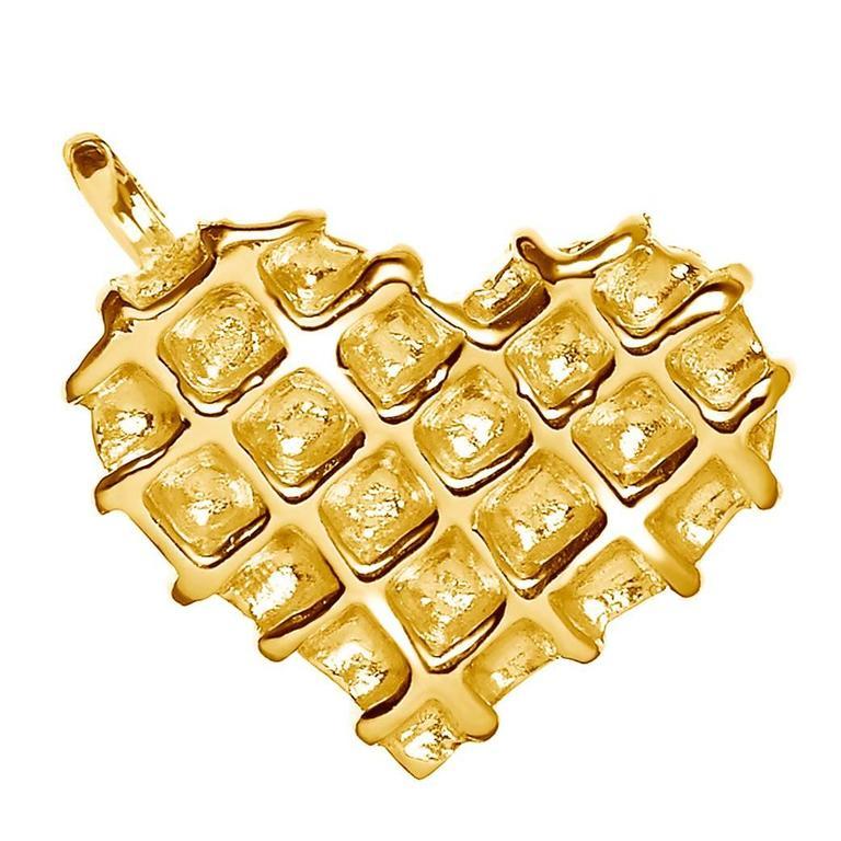 TPL Vermeil Heart Charm