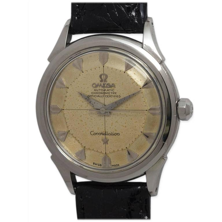 Omega Stainless Steel Constellation Automatic Wristwatch Ref 2852