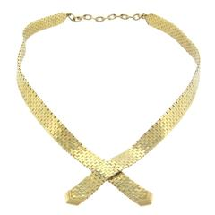 Classic Retro Tiffany & Co. Gold Necklace