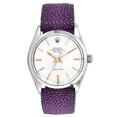 Rolex Stainless Steel Oyster Perpetual Air-King Wristwatch