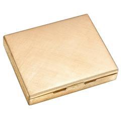 Buccellati Engraved Gold Case