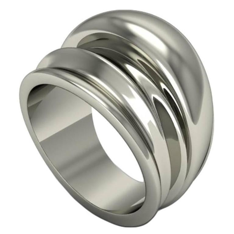 Barbara Nanning & Sparkles Gold Ring For Sale