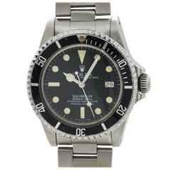 """Rolex Stainless Steel """"Great White"""" Seadweller Wristwatch Ref 1665"""