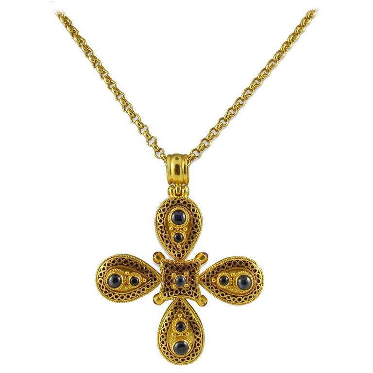 cross open design archives hidden jeweler smith oliver maltese pendant