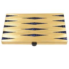 Magnificent French Retro Sapphire Gold Box