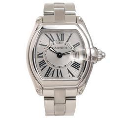 Cartier Ladies Stainless Steel Roadster Quartz Wristwatch, circa 2010