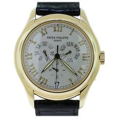Patek Philippe Yellow Gold Annual Calendar Wristwatch Ref 5035J