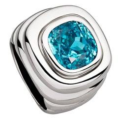 Colleen B. Rosenblat Zircon Gold Ring