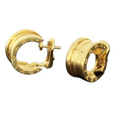 Bulgari Gold Hoop Earrings