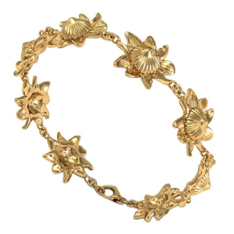 Barbara Nanning & Sparkles Gold Bracelet