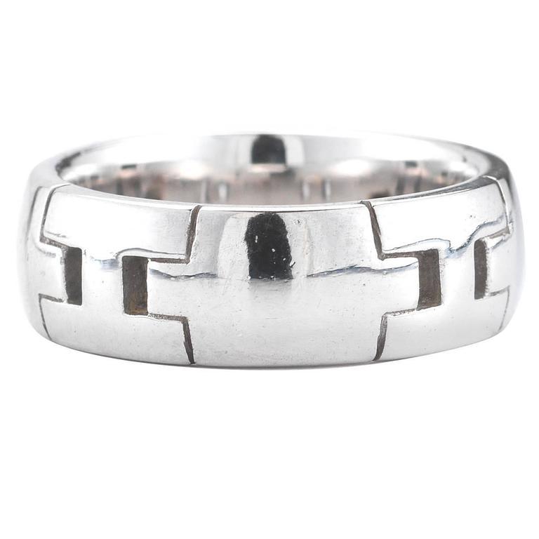 Hermes  Gold Logo Ring
