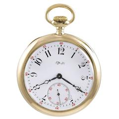 Tiffany & Co. Antique Gold Pocket Watch