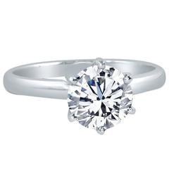 Prince Diamond 0.54 Cts. GIA Cert Diamond Solitaire Engagement Ring