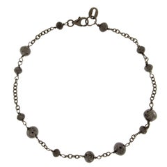 Jona Black Diamond 18 Karat White Gold Black Rhodium Bracelet