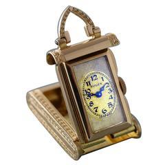 Rolex Rose Gold Purse Pocket Watch