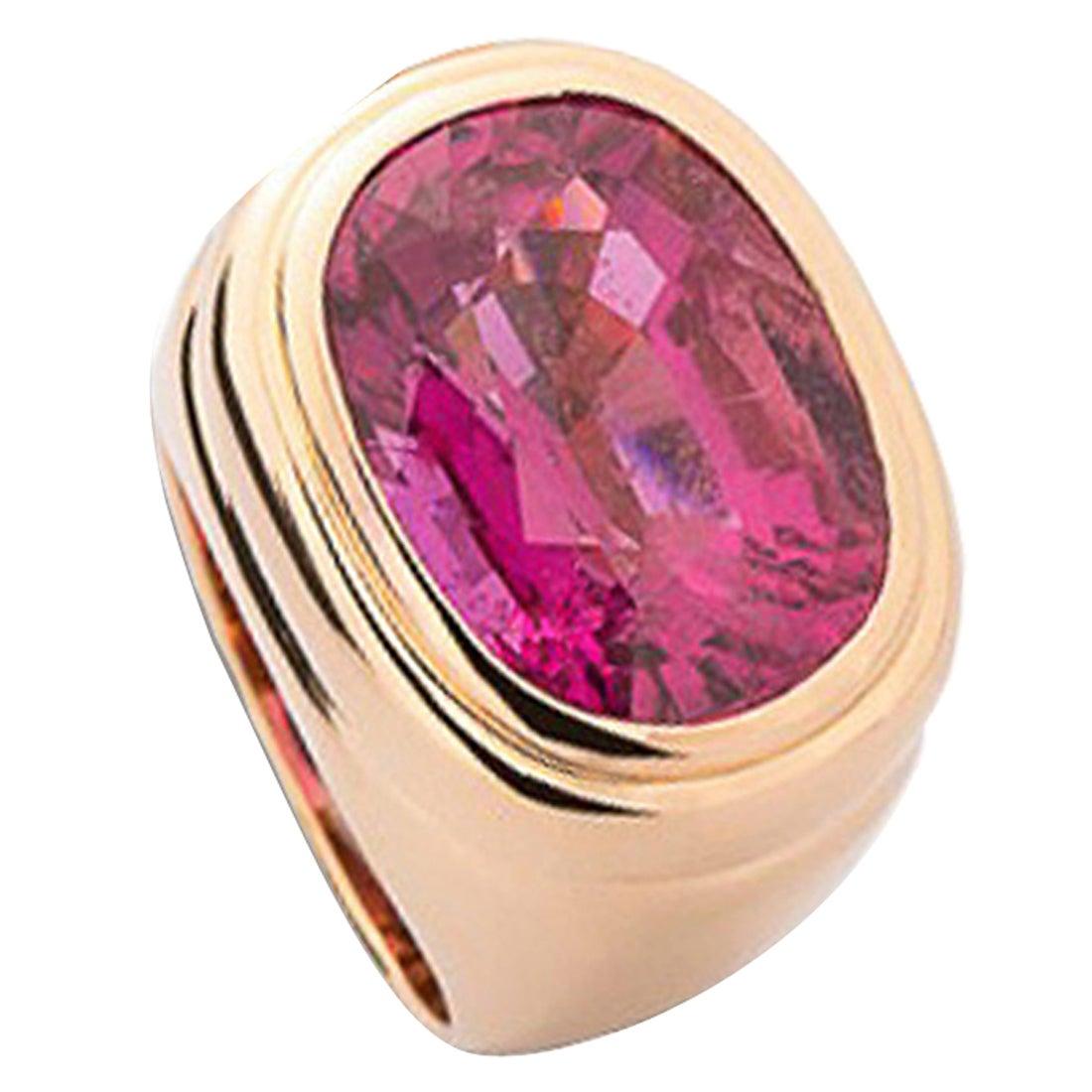 Colleen B. Rosenblat Tourmaline Gold Ring