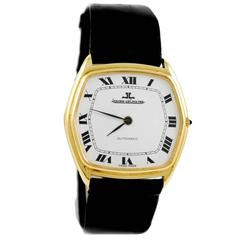 Jaeger-LeCoultre Yellow Gold Automatic Wristwatch Ref 5000 21